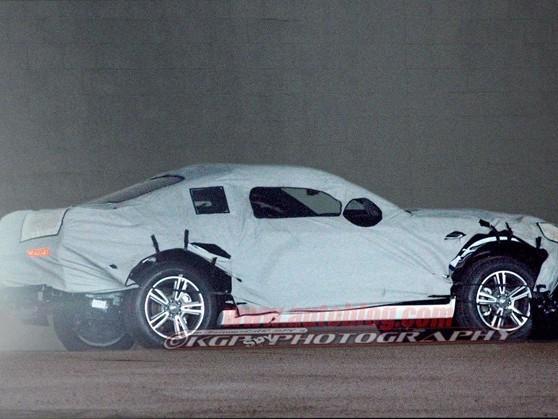 Ford Mustang: la future génération bien camouflée