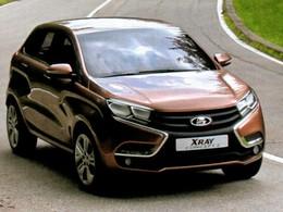 Salon de Moscou - Les concepts Lada Vesta et Xray 2 en avance!