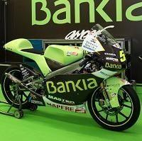 GP125 - Aprilia: Le team Aspar passe au vert