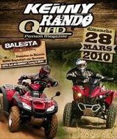 Le 28 mars, ce sera le Kenny Rando Quad près de Toulouse