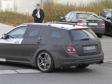 Une Mercedes C63 AMG Estate Black Series en préparation?