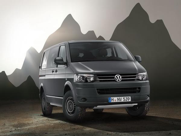 Volkswagen Transporter Rockton 4Motion : le monospace baroudeur