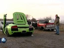 Il crashe sa Lamborghini pour payer les taxes