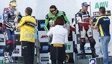 FSBK de Magny Cours : le podium de la diversité en Superbike