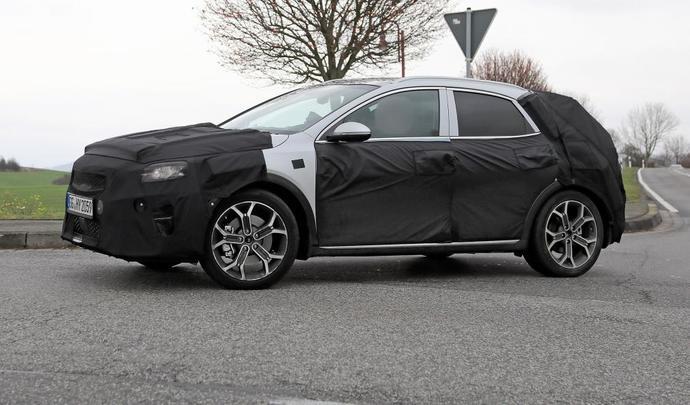 Kia prépare un SUV sur la base de la nouvelle Ceed