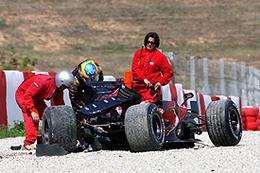 """F1 Toro Rosso : """"j'ai fait une faute"""" S.Bourdais"""