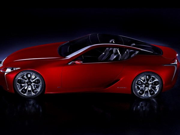 Detroit 2012 : première image officielle de la Lexus LF-LC