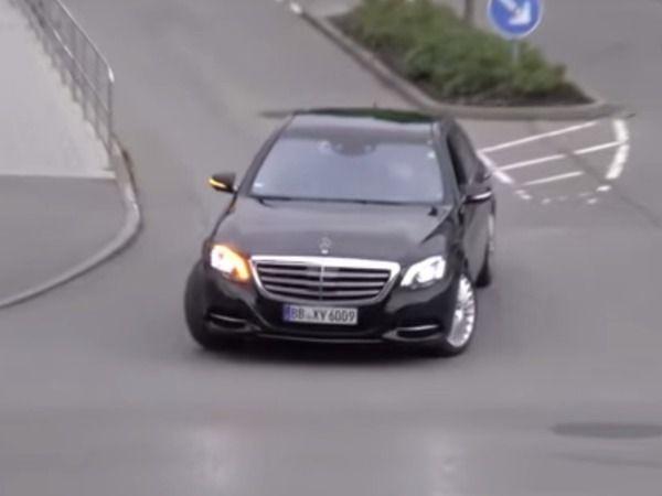 Surprise : la Mercedes Classe S restylée en balade
