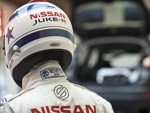 Le Nissan Juke-R aux 24h de Dubaï