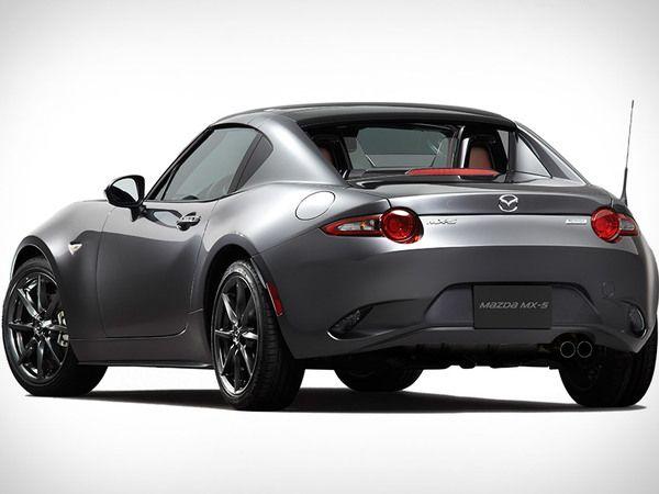 Mazda : la MX-5 RF commercialisée début 2017 en France