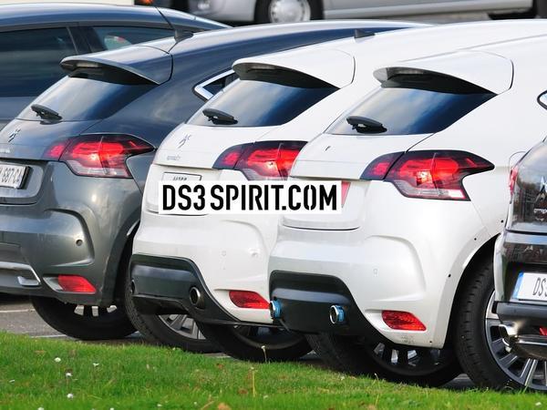Des photos de la Citroën DS4 R...