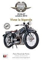 Calendrier : le salon Moto Légende 2013