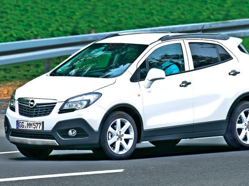 L'Opel Moka en route vers Genève