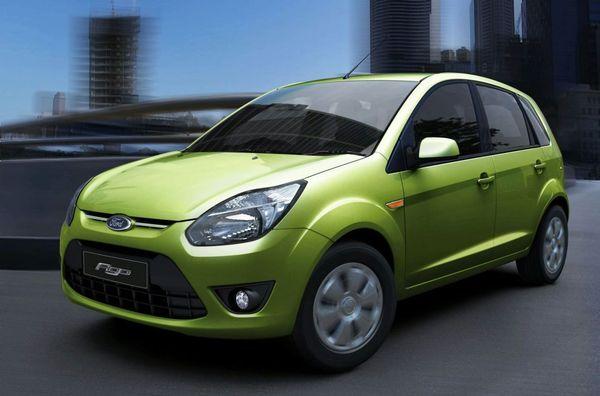 Nouvelle Ford Figo : présentée sur les terres de la Tata Nano