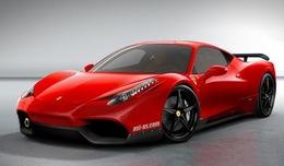 Ferrari 458 Italia par ASI : nostalgie des narines