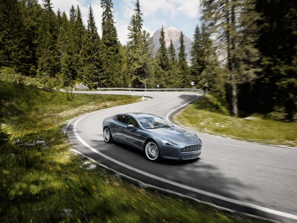 Aston Martin Rapide : 11 photos HD valent mieux qu'un long discours