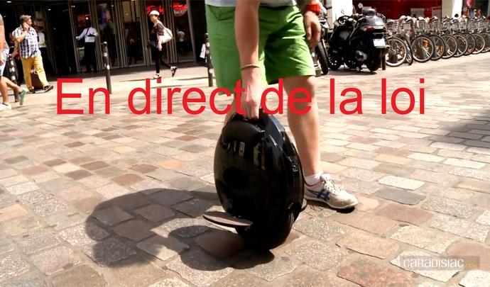 En direct de la loi – Trottinettes: peut-on circuler avec sur les trottoirs?