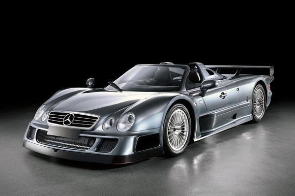 A vendre : deux Mercedes CLK-GTR version route