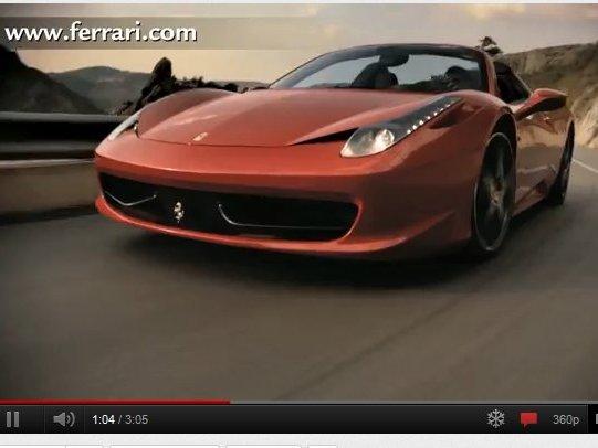 [vidéo] Vous reprendrez bien un peu de Ferrari 458 Spider ?