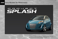 Project Splash par Suzuki: le teaser