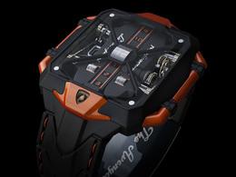 The Avenger Vertical Tourbillon Concept, une montre inspirée par la Lamborghini Aventador