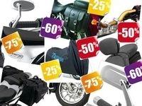 Jusqu'à 75% de réduction sur les accessoires Triumph !!