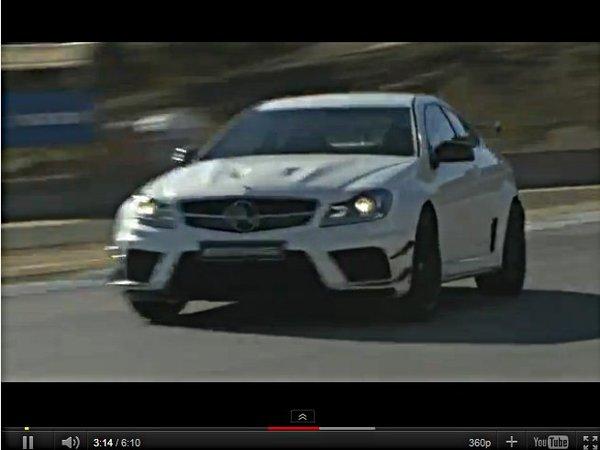 [vidéo] Le Mercedes C63 AMG Coupé Black Series résonne à Laguna Seca