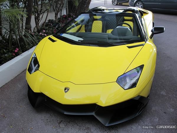 Photos du jour : Lamborghini Aventador Roadster 50th anniversaire