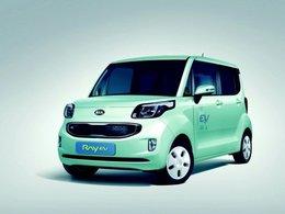 Kia Ray EV : la première auto électrique coréenne
