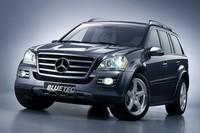 Salon de Detroit : Mercedes Vision Classe GL 420 Bluetec, classe écolo