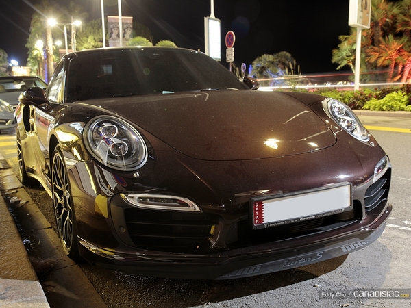 Photos du jour : Porsche 911 991 Turbo S