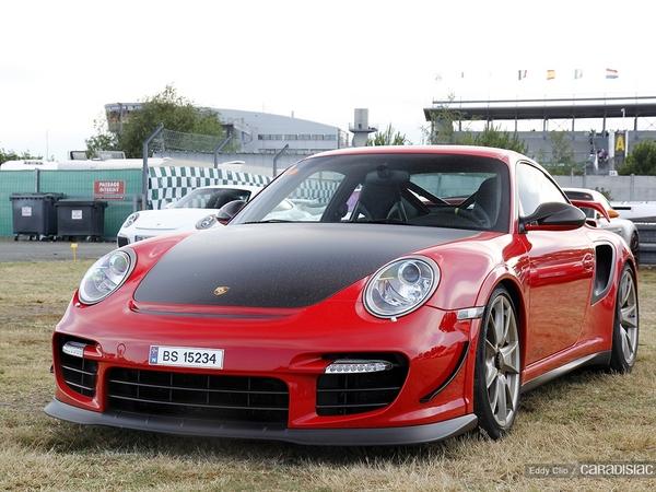 Photos du jour : Porsche 911 997 GT2 RS (Le Mans Classic)