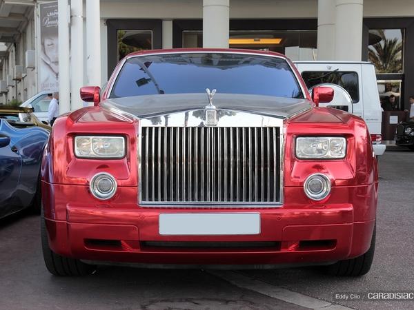 Photos du jour : Rolls Royce Phantom
