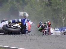 Moto GP - Allemagne Jour 1: C'est fini pour Jorge Lorenzo