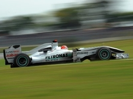 Schumacher se plaint de sa monoplace