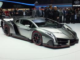 La Lamborghini Veneno élue plus laide auto de tous les temps
