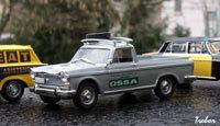 Miniature : 1/43 ème - SEAT 1500 pick-up