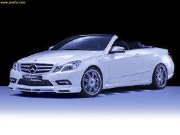 Mercedes Classe E Cabriolet par Piecha : vraiment que de la gueule
