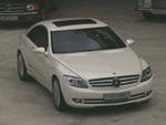 La Mercedes CL plastiquée par l'oeil de Lynx