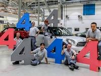 L'usine Magna Steyr de Graz fête le 444 444e Mini Countryman produit