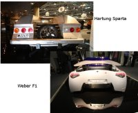 Top Marques 2008 : Hartung Sparta et Weber F1, douces folies