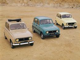 La Renault 4 aura 50 ans en 2011