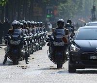 Les nouvelles R 1200 RT Gendarmerie prennent l'air le 14 juillet...