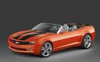 Salon de Detroit : Chevrolet Camaro Cabriolet Concept, superbe !