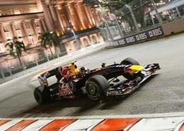F1 - GP Singapour, Essais Libres 2 : Vettel premier, Webber piqué au vif