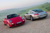 La Porsche 911 Targa  dynamitée par l'Oeil de Lynx