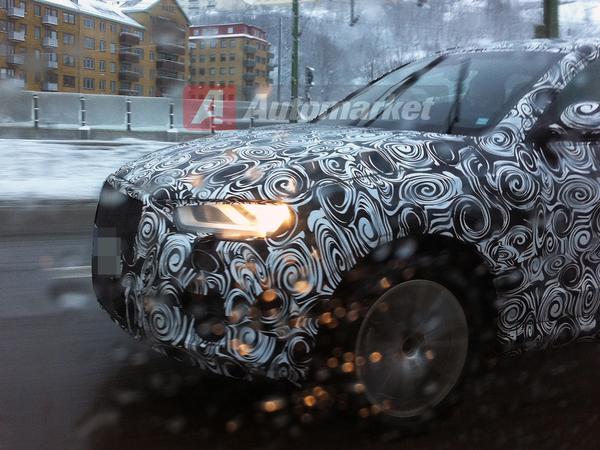 Le futur Audi Q3 sur la route