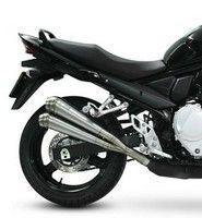 Look racing pour la Suzuki GSX-F 650 grâce au pot Laser X-treme GP-style.