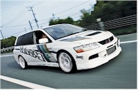 Mitsubishi Evolution IX break by Trust