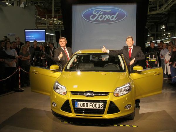 Ford débute la production de la nouvelle Focus en Allemagne